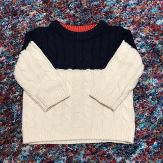 フタフタ(futafuta)のケーブルニットのセーター(ニット/セーター)