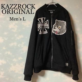 カズロックオリジナル(KAZZROCK ORIGINAL)のKazzrock Original スウェット フリース 裏地 キャラクター 狼(スウェット)
