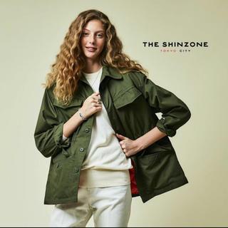 シンゾーン(Shinzone)の【10/25まで値下げ】Shinzone フィールドジャケット カーキ 36(ミリタリージャケット)
