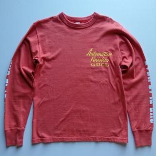 フラットヘッド(THE FLAT HEAD)のTHEFLATHEAD/袖バックプリントロンT/美USED/バイカー(Tシャツ/カットソー(七分/長袖))
