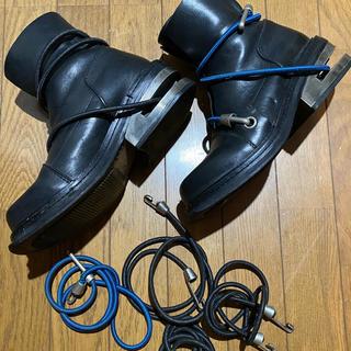 ダークビッケンバーグ(DIRK BIKKEMBERGS)のさかモと様専用 DIRKBIKKEMBERGSのワイヤーブーツ(ブーツ)