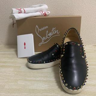 クリスチャンルブタン(Christian Louboutin)の【ルブタン22.5】数回着用のみ(ローファー/革靴)