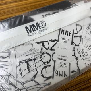 エムエムシックス(MM6)のMM⑥ Maison Margiela PVCクリアポーチ(ポーチ)