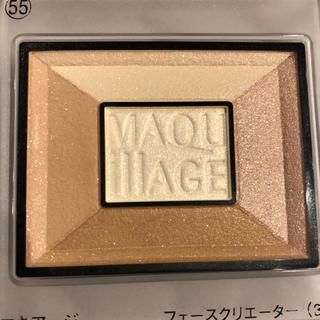 マキアージュ(MAQuillAGE)のマキアージュ フェースクリエーター(3D) 55 ヌードドーンベージュ(フェイスカラー)