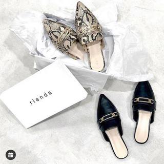 リエンダ(rienda)のrienda❤ノベルティー❤フラットシューズ(ローファー/革靴)