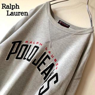 ラルフローレン(Ralph Lauren)の【ゆるだぼ】POLO JEANS Ralph Lauren でかロゴ スウェット(スウェット)