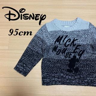 ディズニー(Disney)の【美品】Disney/mickey ミッキー グラデーション ニット 95cm(ニット)