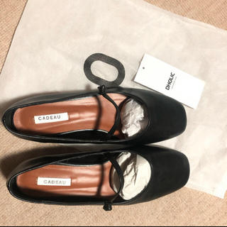 ディーホリック(dholic)のディーホリック新品未使用ストラップシューズ バレエシューズ(ローファー/革靴)