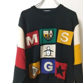 マンシングウェア(Munsingwear)の未使用 マンシングウェア MUNSINGWEAR ニット セーター デザイン(ニット/セーター)