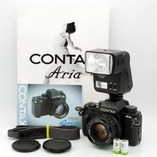 キョウセラ(京セラ)の★美品★アリア CONTAX Aria Planar プラナー レンズセット(フィルムカメラ)