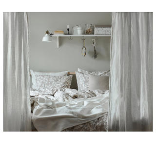 イケア(IKEA)のIKEA 掛け布団カバー クイーン 枕カバー 新品未開封(シーツ/カバー)