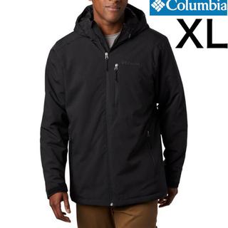 コロンビア(Columbia)のcolumbia 中綿入り ジャケット 黒 XL(ダウンジャケット)