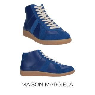 マルタンマルジェラ(Maison Martin Margiela)のMaison Margiela☆ハイカットスニーカー☆ブルー(スニーカー)