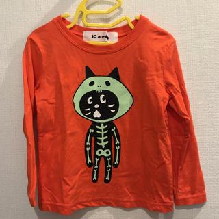 ネネット(Ne-net)の再値下げ☆Ne-net ハロウィンにゃーT オレンジ ロンT 100-110 M(Tシャツ/カットソー)