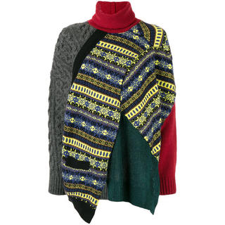 カラー(kolor)のkolor クレイジーパターンニット(ニット/セーター)