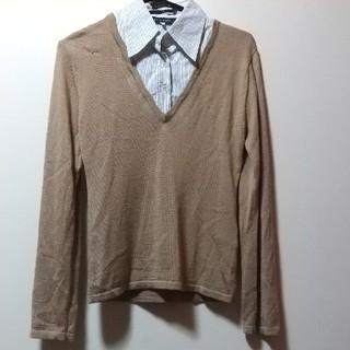 ニッセン(ニッセン)の襟と袖口付き セーター ニット ニッセン(ニット/セーター)