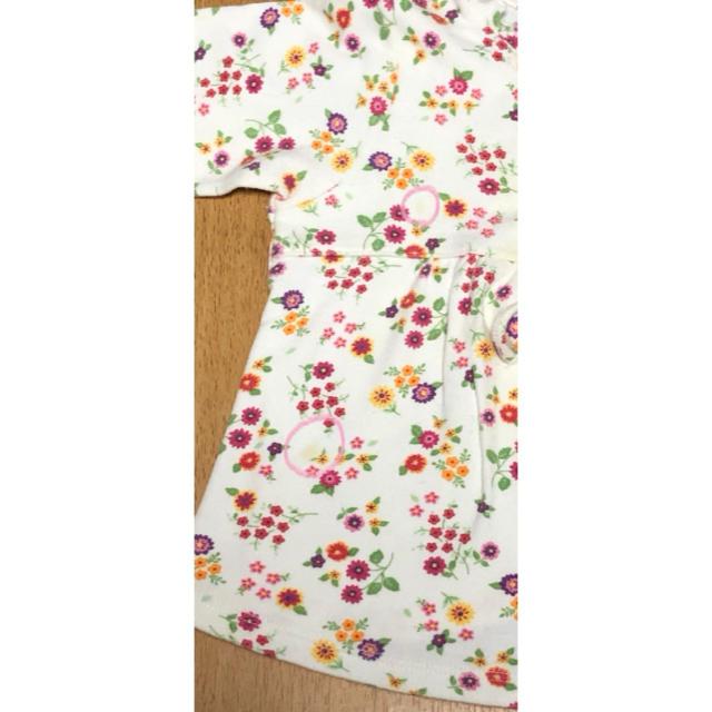Gerber(ガーバー)のGerber 女の子 12MONTHS 綿100% カットソー ② キッズ/ベビー/マタニティのベビー服(~85cm)(シャツ/カットソー)の商品写真