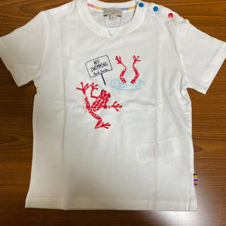ポールスミス(Paul Smith)のポールスミスベビー2A☺︎カエル柄Tシャツ ミニロディーニ、リトルマーク好きに(Tシャツ/カットソー)