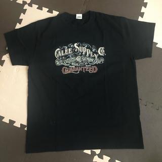 キャリー(CALEE)のCALEE Tシャツ 黒 XL(Tシャツ/カットソー(半袖/袖なし))