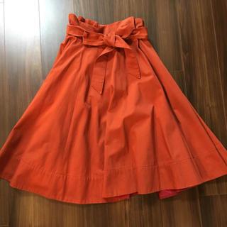 ドゥロワー(Drawer)のドゥロワー ラップスカート サイズ36(ひざ丈スカート)
