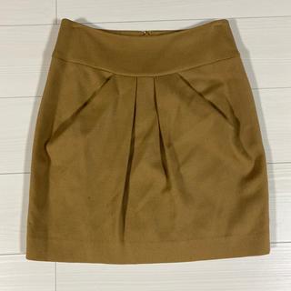 スピックアンドスパンノーブル(Spick and Span Noble)のウール スカート(ミニスカート)