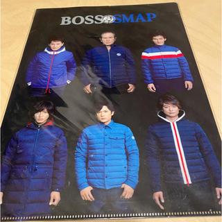スマップ(SMAP)のBOSS SMAP オリジナルクリアファイル(アイドルグッズ)