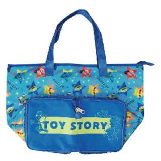 トイストーリー(トイ・ストーリー)のディズニー トイストーリー エコバッグ 保冷折り畳みトートバッグ(エコバッグ)