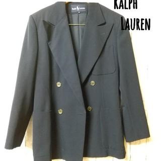 ラルフローレン(Ralph Lauren)のラルフローレン RalphLauren ダブルジャケット スーツ ブレザー 紺(テーラードジャケット)