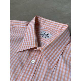 エルメス(Hermes)の90's フランス製 HERMES ドレスシャツ(シャツ)
