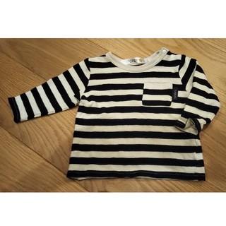 フタフタ(futafuta)のフタフタ 長袖 シャツ 70 ボーダー(Tシャツ)