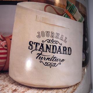 ジャーナルスタンダード(JOURNAL STANDARD)のGLOW グロウ 11月号ジャーナルスタンダードファニチャーバケツ収納ケース(バスケット/かご)