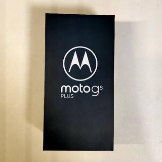 アンドロイド(ANDROID)のモトローラ Moto G8 Plus ポイズンベリー SIMフリー(スマートフォン本体)