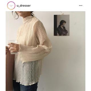 U dresser ユードレッサー シースルー ブラウス(シャツ/ブラウス(長袖/七分))