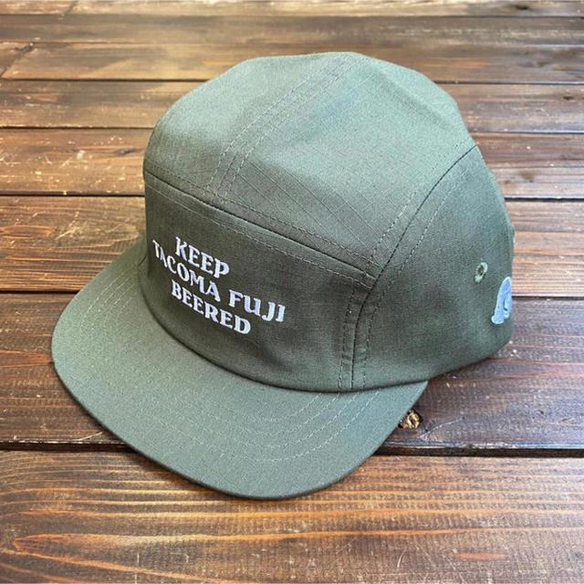 patagonia(パタゴニア)の新品未使用即完売タコマフジ ジェットキャップ グリーン メンズの帽子(キャップ)の商品写真