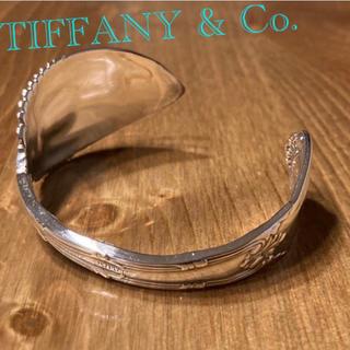 ティファニー(Tiffany & Co.)のTIFFANY アンティーク スプーン バングル Old French(バングル/リストバンド)
