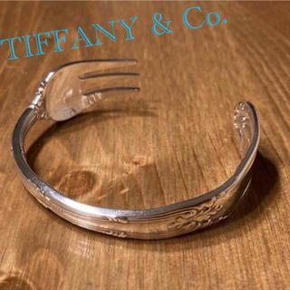 Tiffany & Co. - TIFFANY アンティーク フォーク バングル Old French