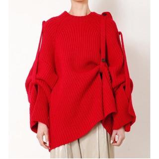 RESTIR - 【10/30まで出品】IRENE Pull Full Cardigan Knit