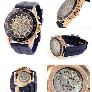 マイケルコース(Michael Kors)のMICHAEL KORS◆JETMASTER/自動巻腕時計。最終値下げ(腕時計(アナログ))