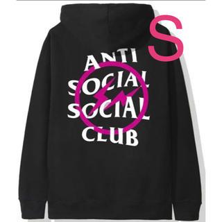 フラグメント(FRAGMENT)のanti social social club fragment S パーカー(パーカー)