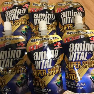 アジノモト(味の素)のアミノバイタル スーパースポーツ 6個(アミノ酸)