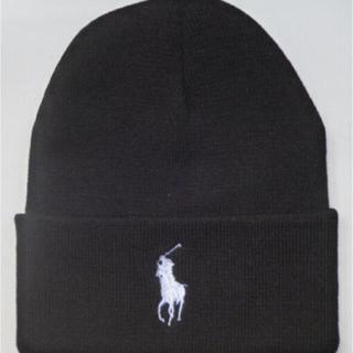 ポロラルフローレン(POLO RALPH LAUREN)の専用 黒とグレー(ニット帽/ビーニー)