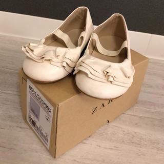 ザラキッズ(ZARA KIDS)の*zara*靴*バレーシューズ 15cm(フォーマルシューズ)