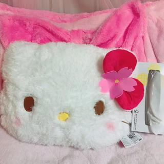 ハローキティ - キティ ぬいぐるみ クッション