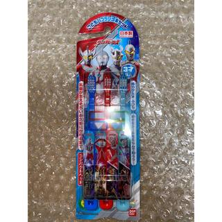 バンダイ(BANDAI)のバンダイ こどもハブラシ3本セット ウルトラヒーロー (歯ブラシ/歯みがき用品)