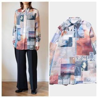 フィーニー(PHEENY)の2020aw Pheeny Print chiffon shirt MULTI(シャツ/ブラウス(長袖/七分))