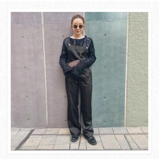 エディットフォールル(EDIT.FOR LULU)のMEME vintage original overall black(サロペット/オーバーオール)