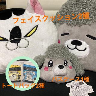 タイトー(TAITO)の犬と猫どっちも飼ってる毎日たのしい プライズグッズ5点セット(キャラクターグッズ)