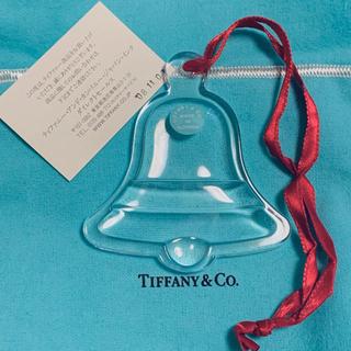 ティファニー(Tiffany & Co.)のティファニー クリスタル クリスマスツリー オーナメント ベル(その他)
