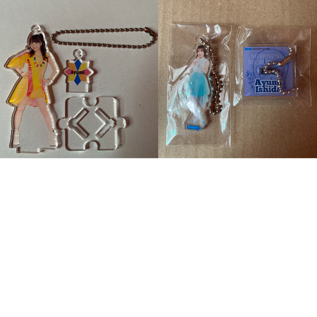モーニング娘。(モーニングムスメ)のモーニング娘。 石田亜佑美 FSK フィギュアスタンドキーホルダー セット チケットの音楽(女性アイドル)の商品写真