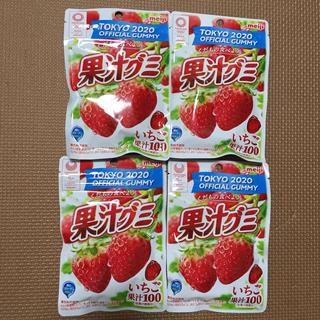 メイジ(明治)の明治果汁グミ いちご 4パック(菓子/デザート)